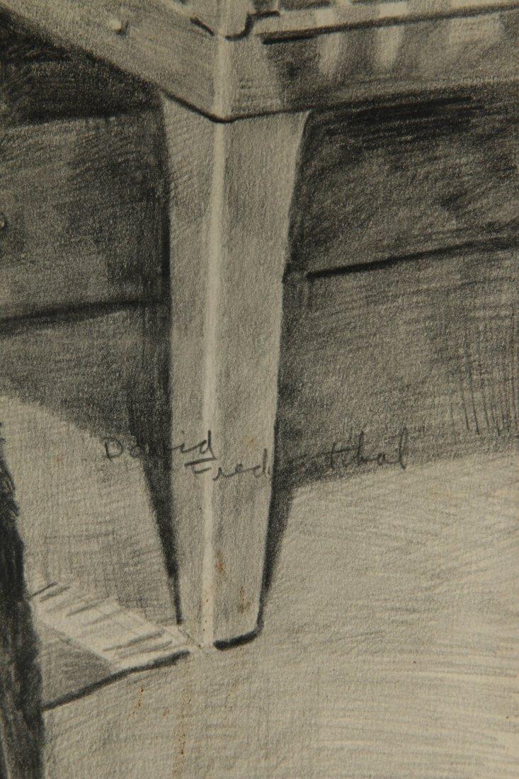 DAVID FREDENTHAL (1914-1958) GRAPHITE SKETCH - 7