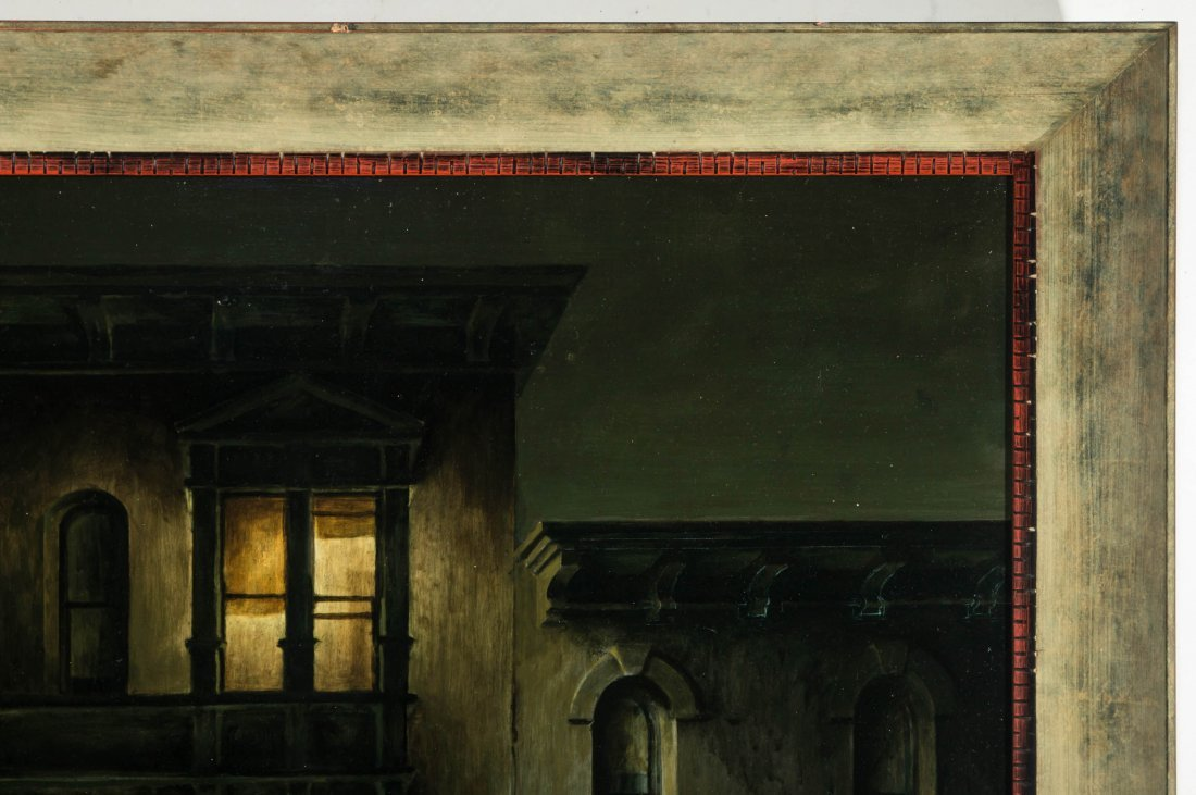 PAUL WILDHABER (1874-1948) OIL ON ARTIST'S BOARD - 4