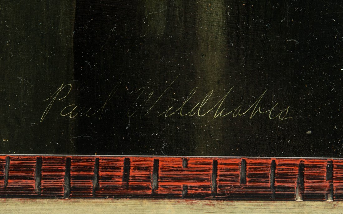 PAUL WILDHABER (1874-1948) OIL ON ARTIST'S BOARD - 7