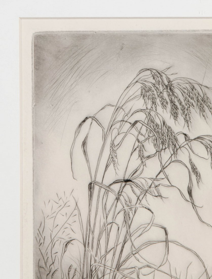 LYMAN BYXBE (1886-1980) PENCIL SIGNED ETCHING - 3