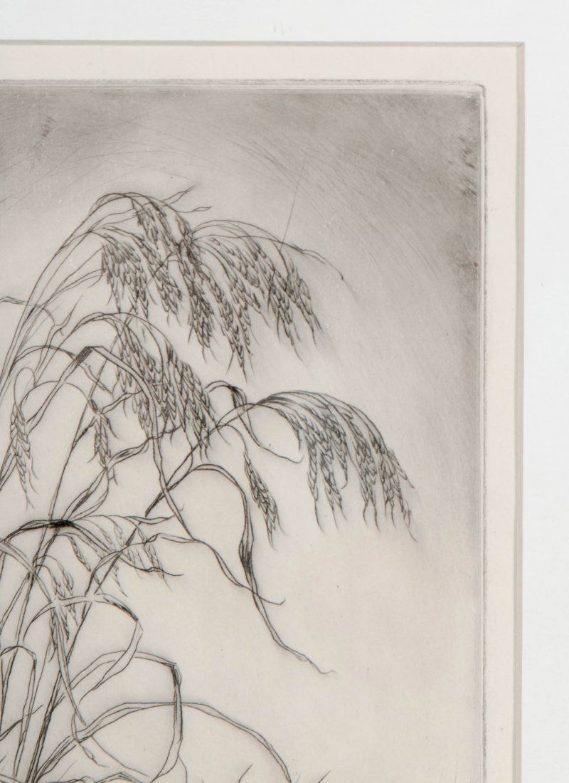 LYMAN BYXBE (1886-1980) PENCIL SIGNED ETCHING - 4