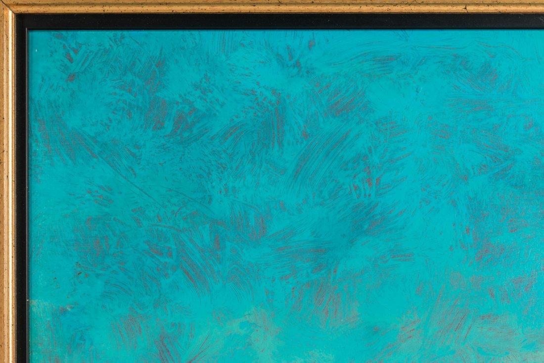 DAVID MELBY (1942-2014) OIL ON ARTIST'S BOARD - 3