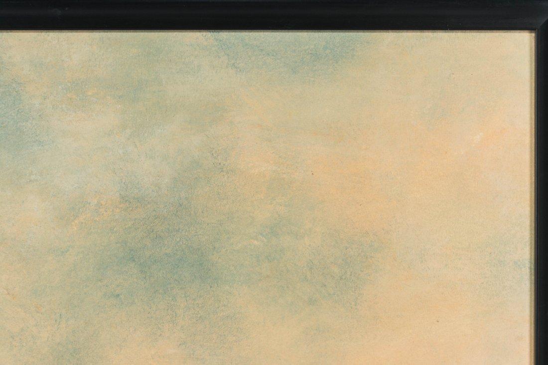 DAVID MELBY (1942-2014) OIL ON ARTIST'S BOARD - 4