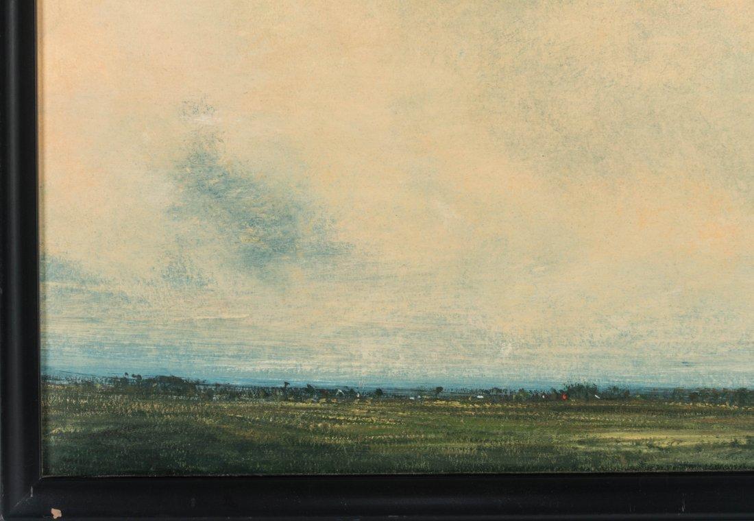 DAVID MELBY (1942-2014) OIL ON ARTIST'S BOARD - 6