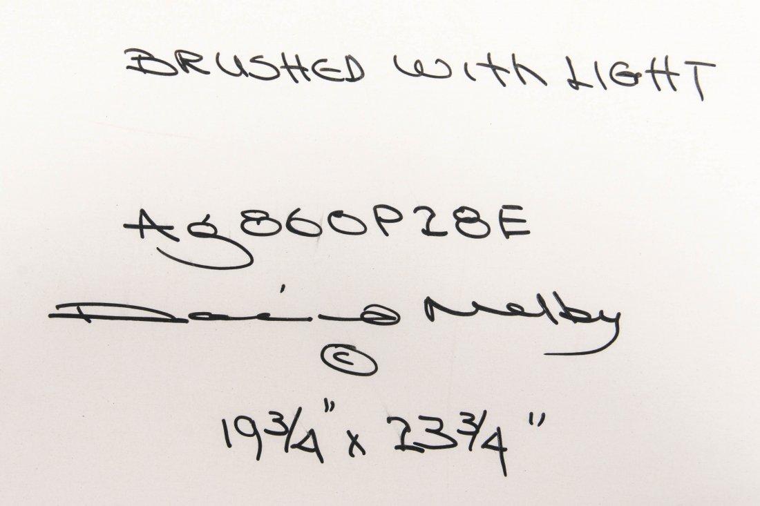 DAVID MELBY (1942-2014) OIL ON ARTIST'S BOARD - 9
