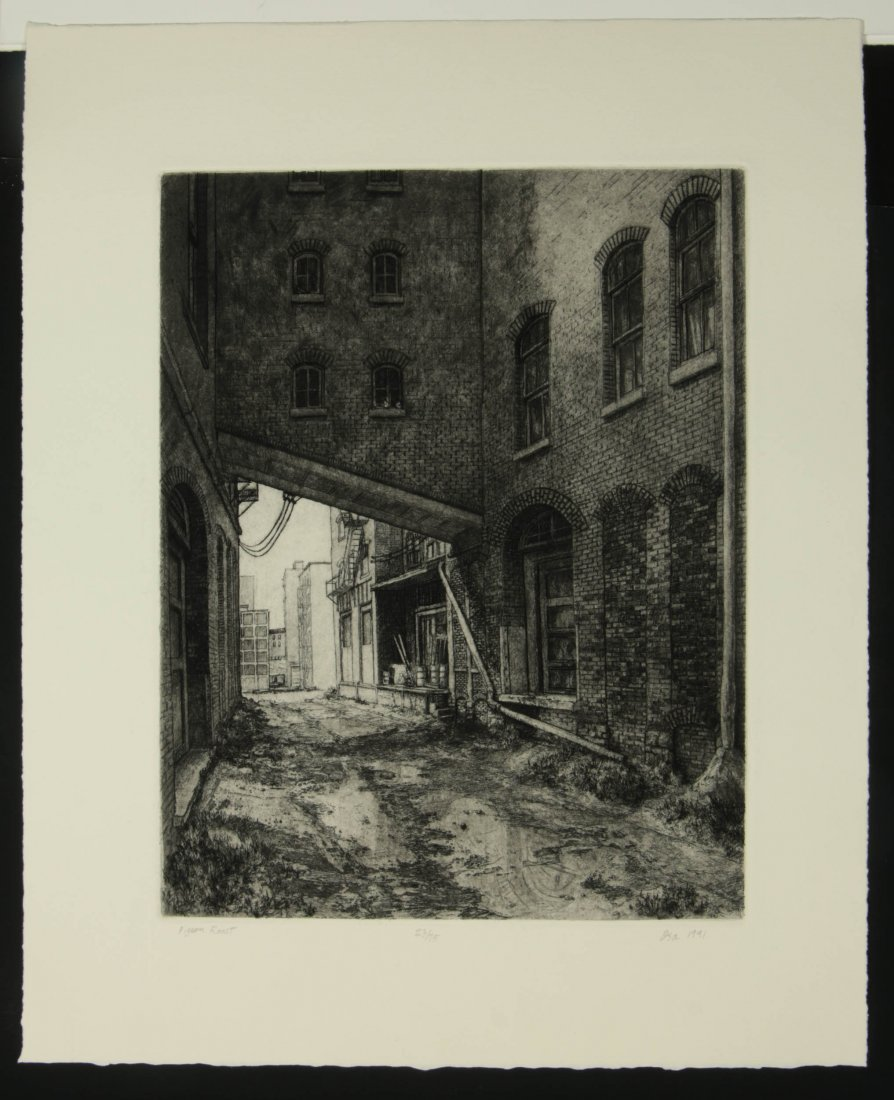 DOUG OSA (BORN 1952) PENCIL SIGNED ETCHING - 2