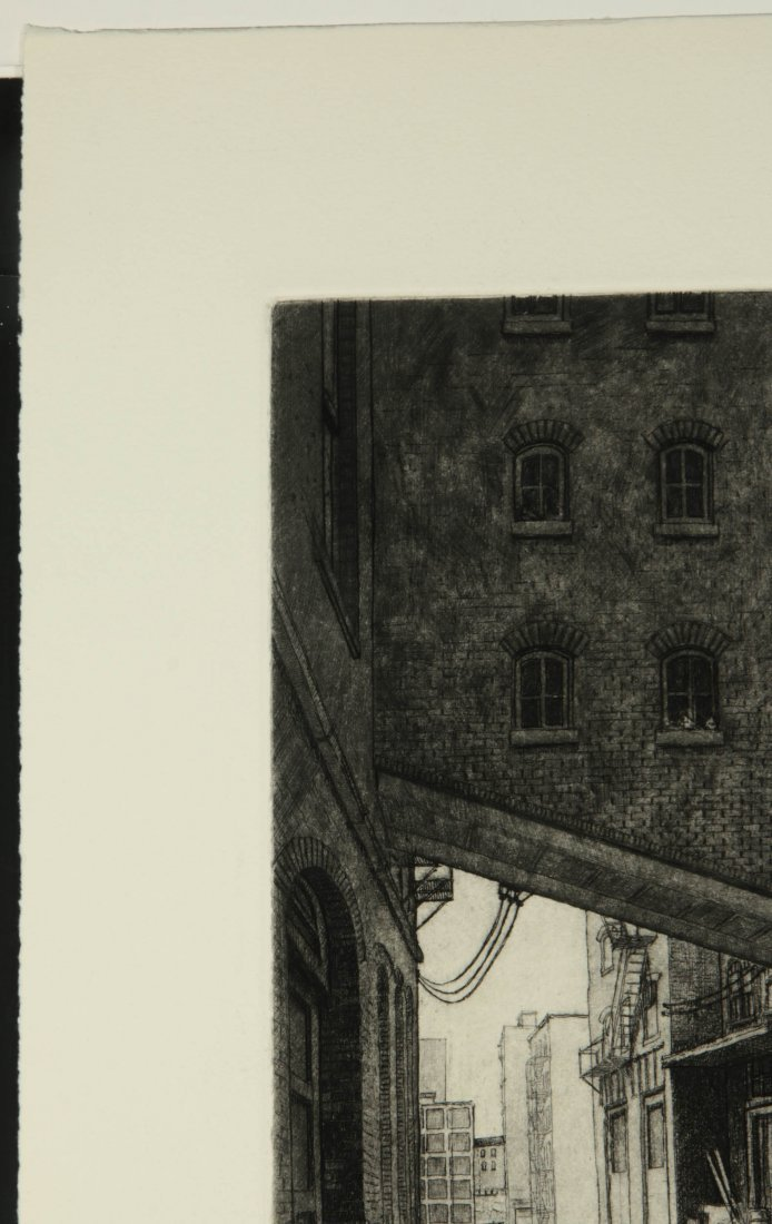 DOUG OSA (BORN 1952) PENCIL SIGNED ETCHING - 3