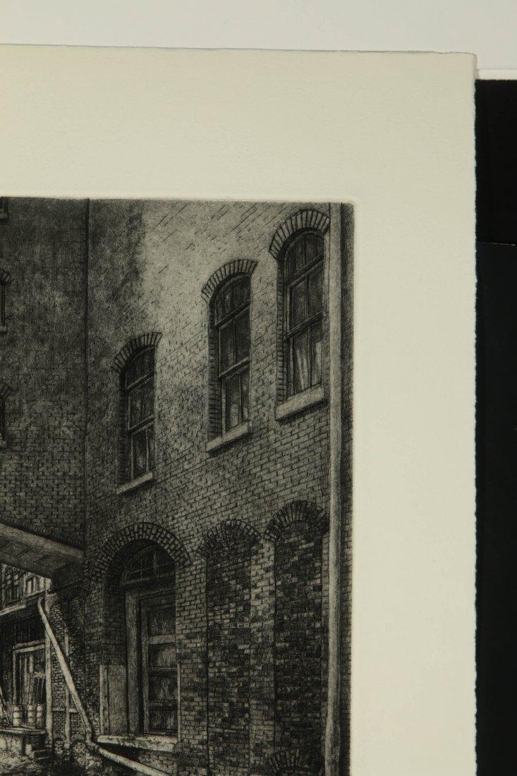 DOUG OSA (BORN 1952) PENCIL SIGNED ETCHING - 4