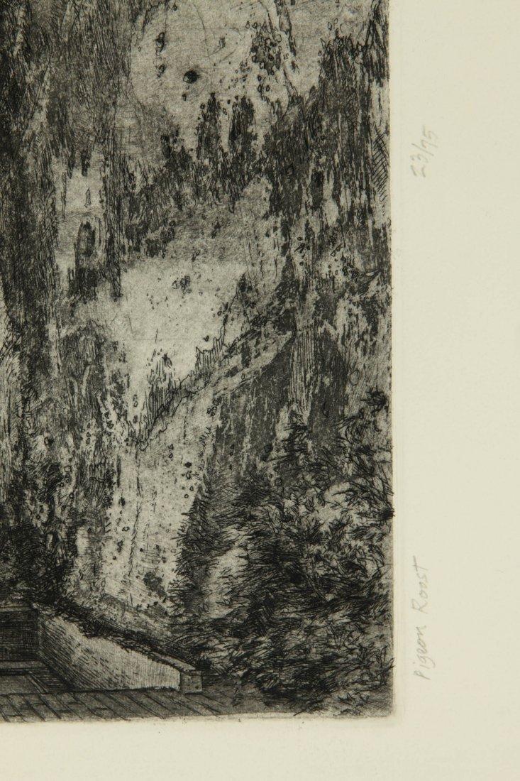 DOUG OSA (BORN 1952) PENCIL SIGNED ETCHING - 7