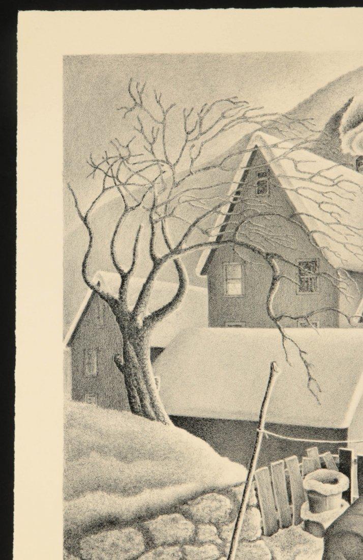 WILLIAM F. KAUTZMAN (1916- ) PENCIL SIGNED LITHOGRAPH - 3