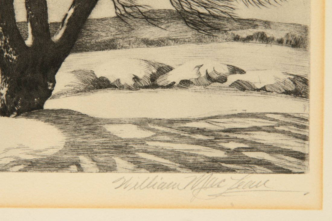 WILLIAM MacLEAN (1860-1940) PENCIL SIGNED LITHOGRAPH - 7