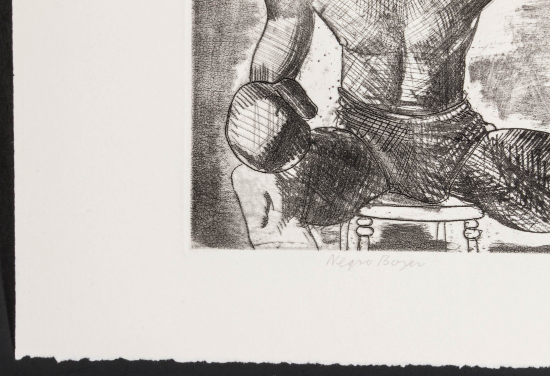 CLEMENT HAUPERS (1900-1982) PENCIL SIGNED ETCHING - 6