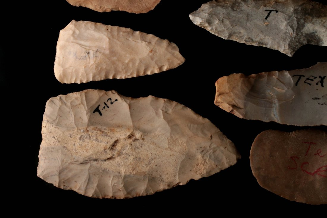 A LARGE GROUP OF TEXAS ARTIFACTS - 5