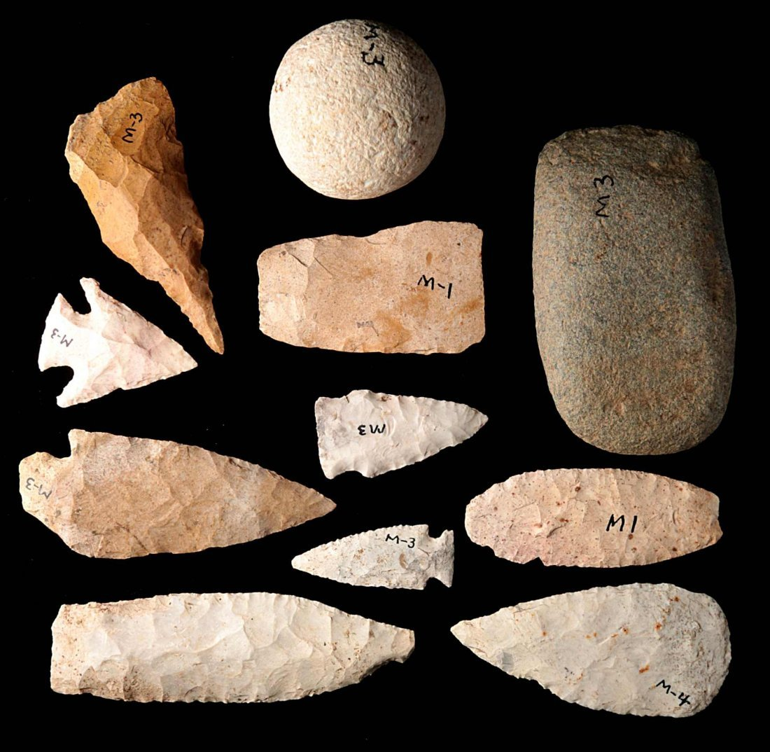 GROUP OF MISC. ARTIFACTS