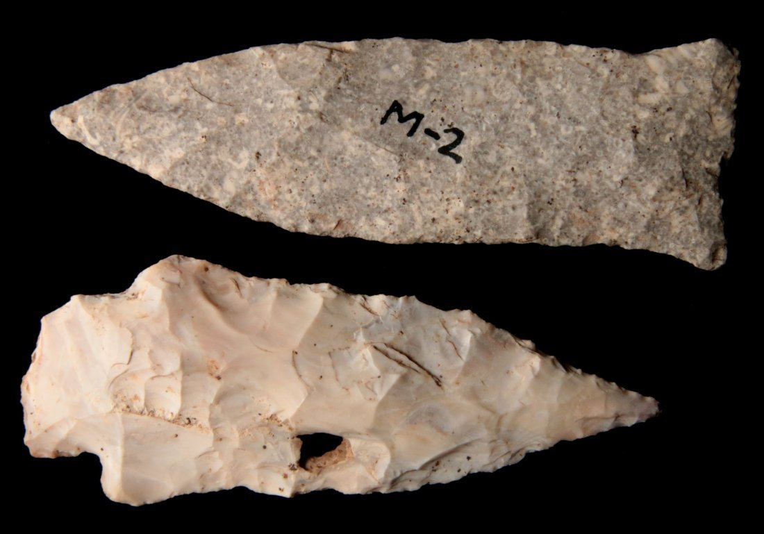 A 4 INCH PIKE COUNTY & MISC. BLADE