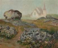 WILLIAM STARKWEATHER 18791969 OIL ON CANVAS