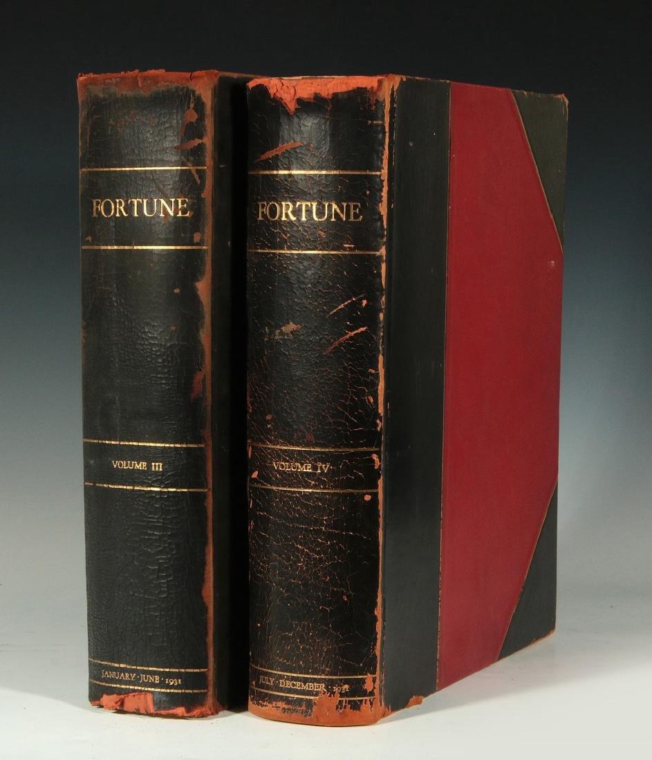 BOUND VOLUME OF FORTUNE MAGAZINES, JAN-DEC 1931