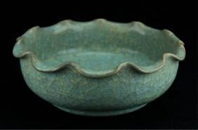 Chinese Song GuanYao Porcelain Bowl