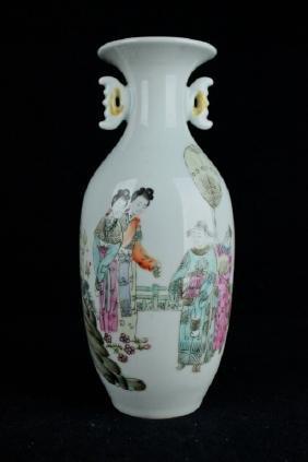 Chinese Porcelain Vase-Republic Period