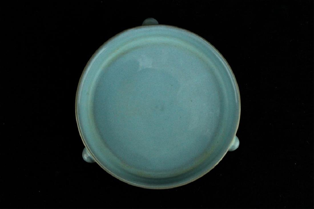 Chinese Song Porcelain RuYao Brush Plate