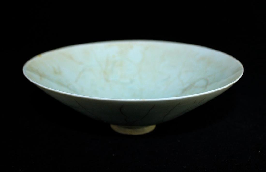 Chinese Song Porcelain Crackle Plate