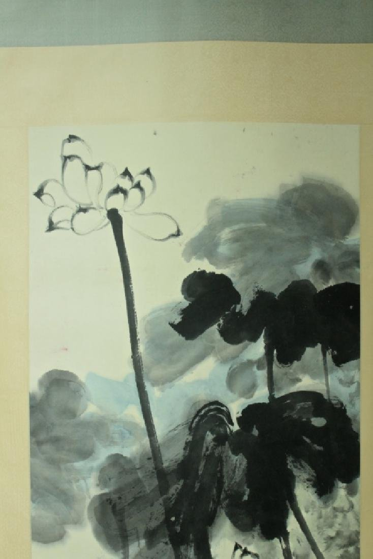 Chinese Scroll Painting Signed by Zhang Da Qian - 2