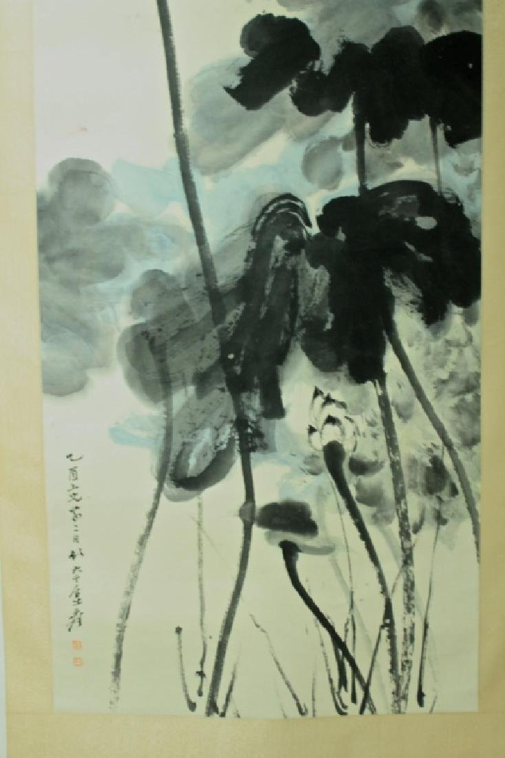Chinese Scroll Painting Signed by Zhang Da Qian - 3