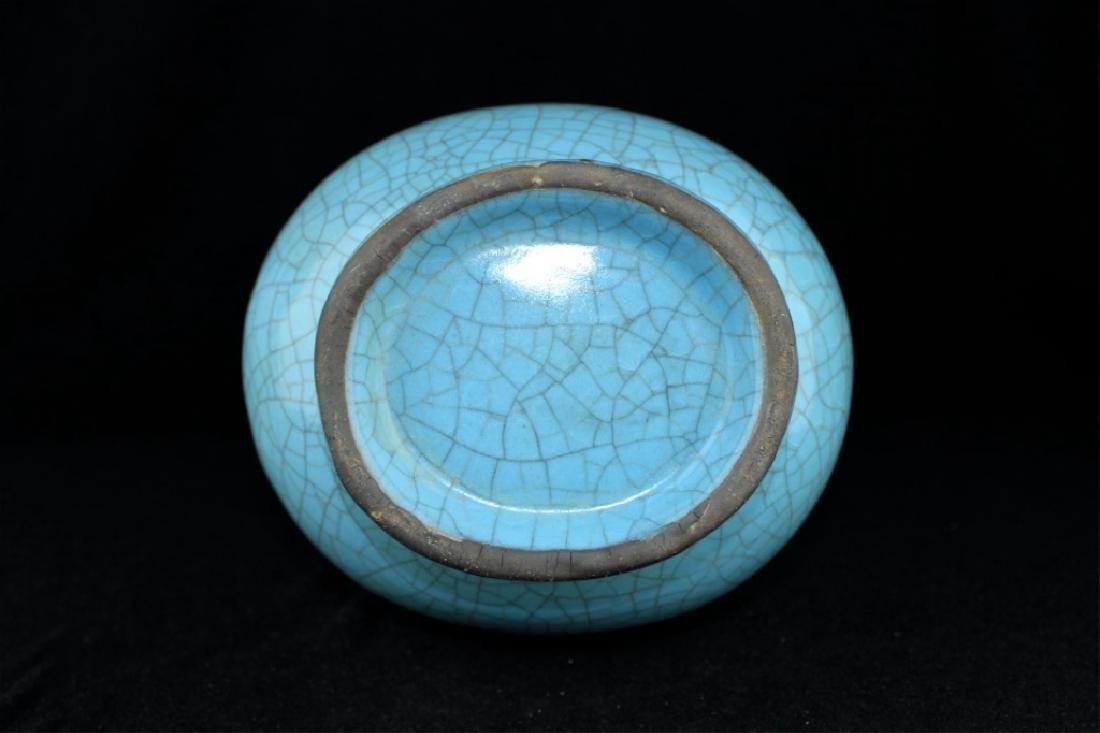 Large Chinese Song Porcelain Crackle Vase - 6