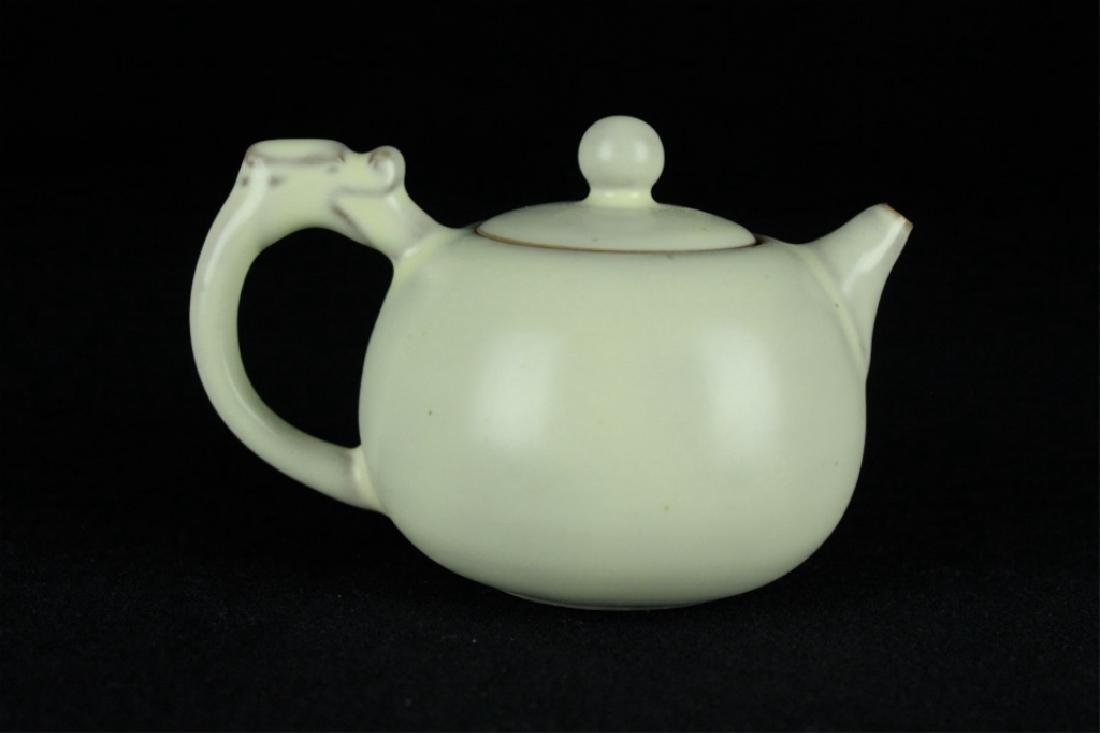 Chinese Song Porcelain DingYao Teapot