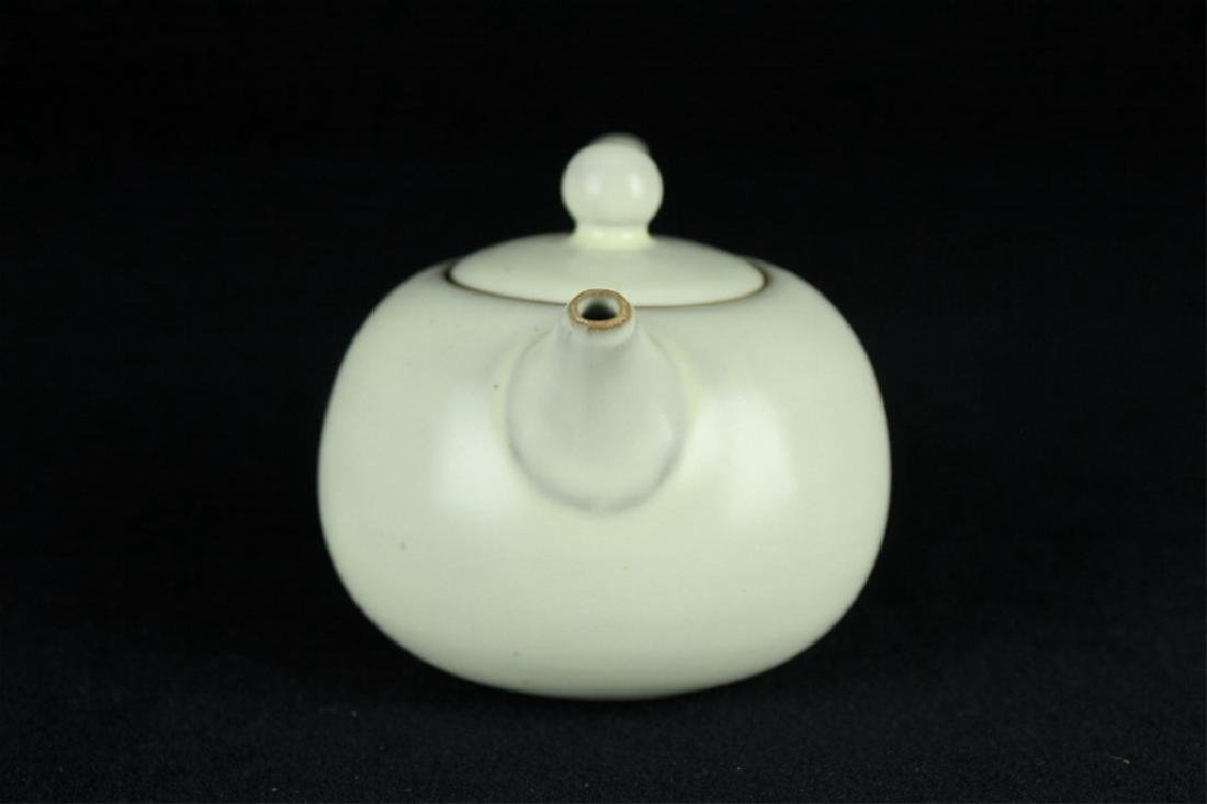 Chinese Song Porcelain DingYao Teapot - 3