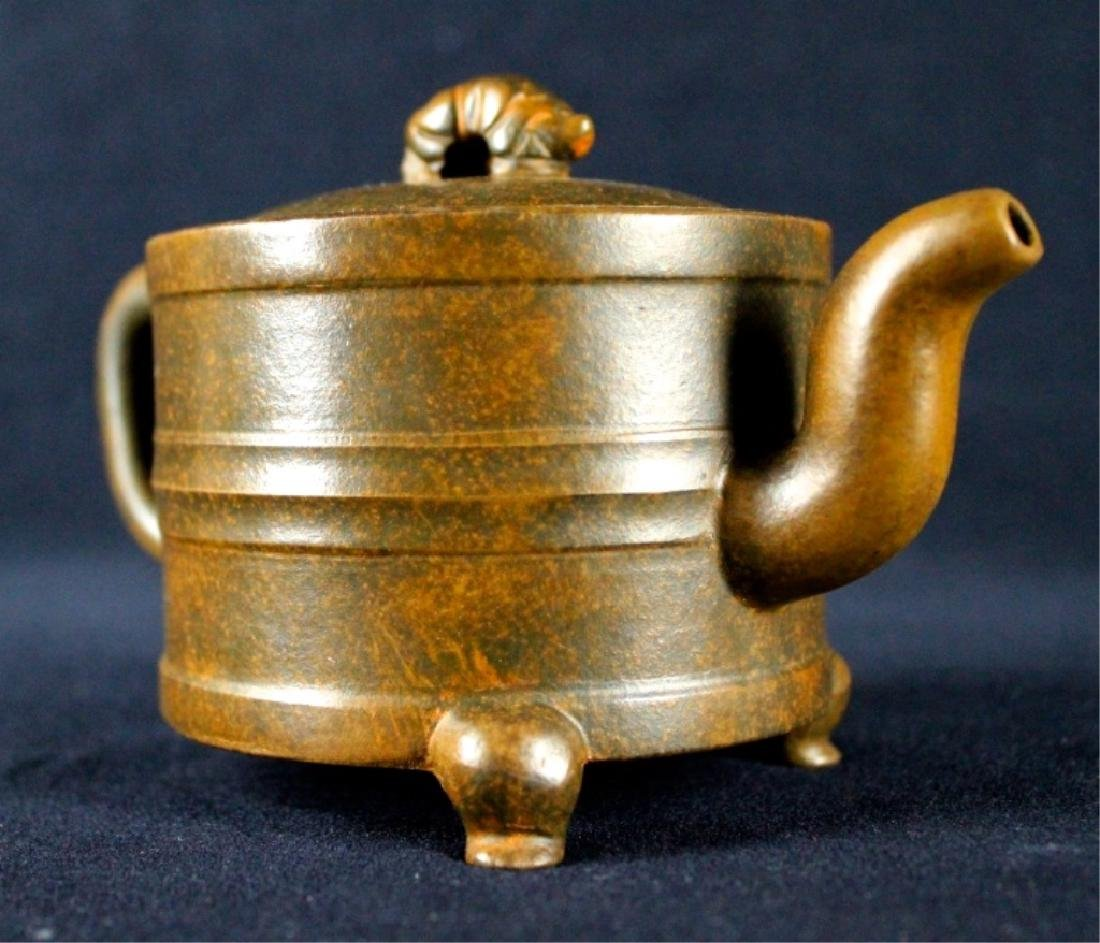 Old Chinese Zi Sha TeaPot Late-19th C. - 4