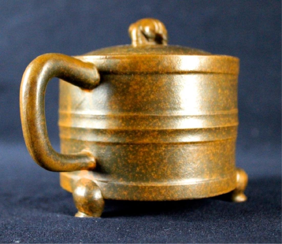 Old Chinese Zi Sha TeaPot Late-19th C. - 6