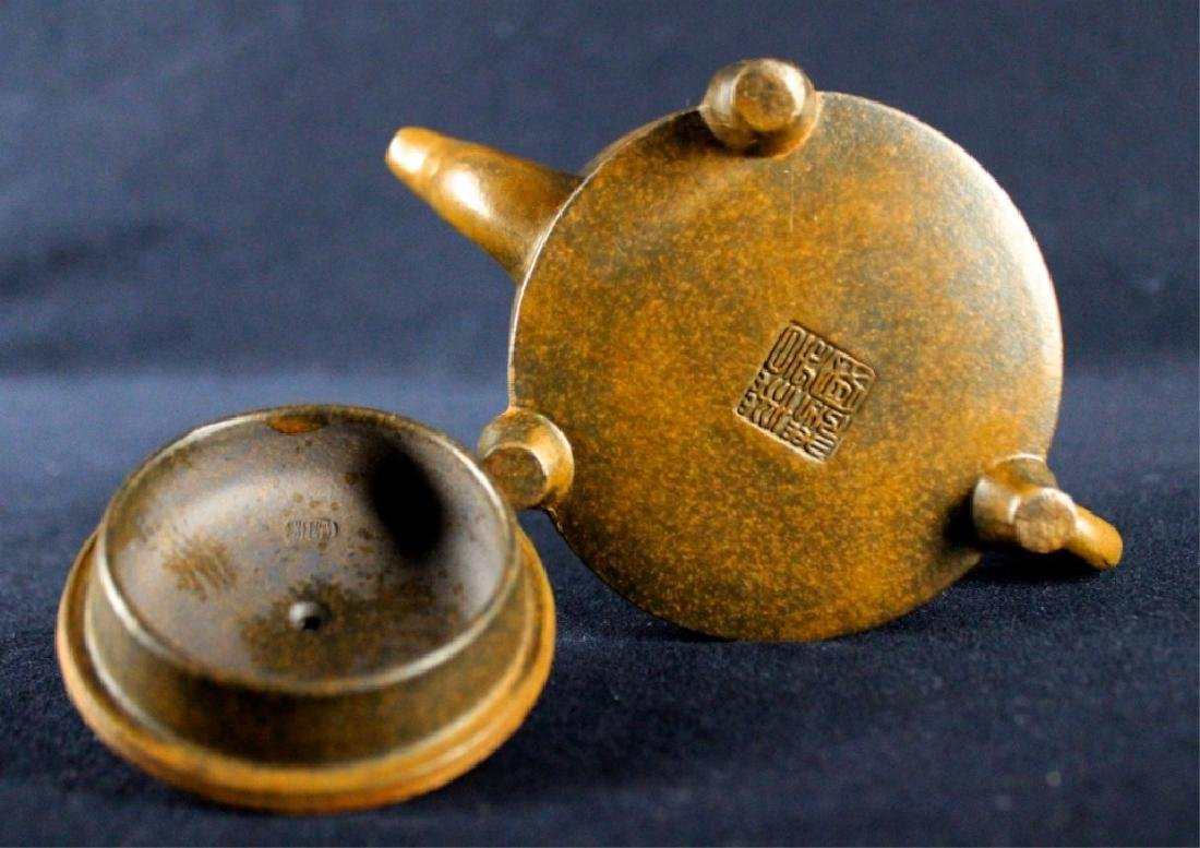 Old Chinese Zi Sha TeaPot Late-19th C. - 9