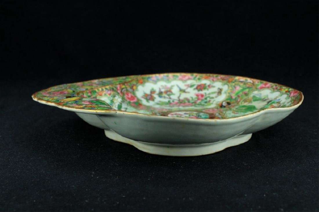 Chinese Qing Porcelain Export Famille Rose Plate - 2