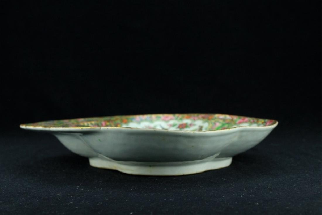 Chinese Qing Porcelain Export Famille Rose Plate - 3