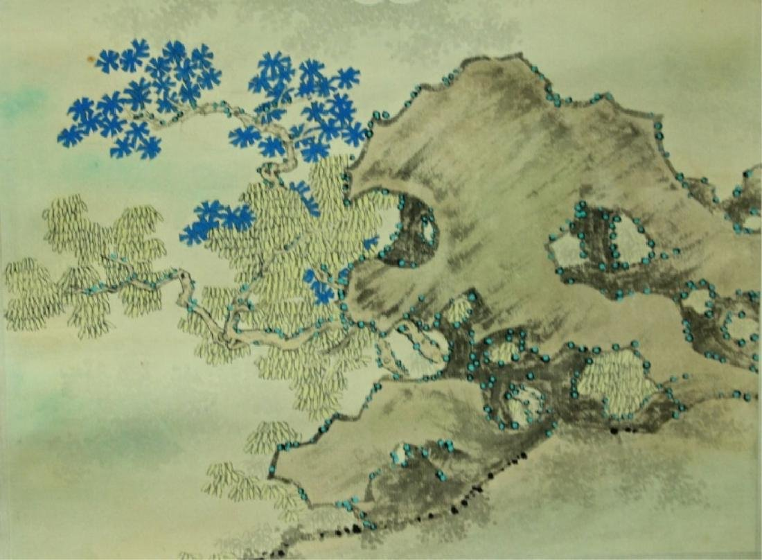 Chinese Scroll Painting Signed by Chen Shao Mei - 7