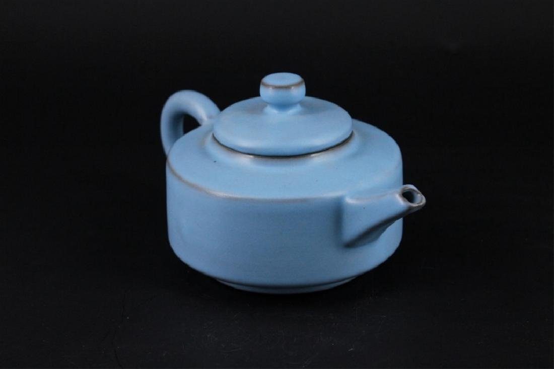 Chinese Song Porcelain RuYao TeaPot - 3