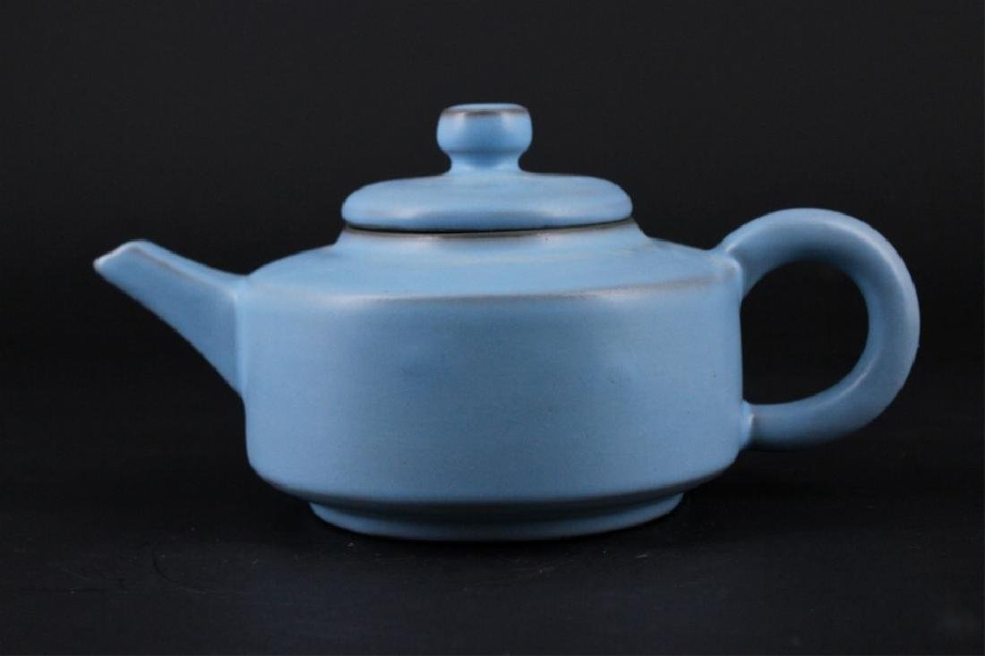 Chinese Song Porcelain RuYao TeaPot - 5