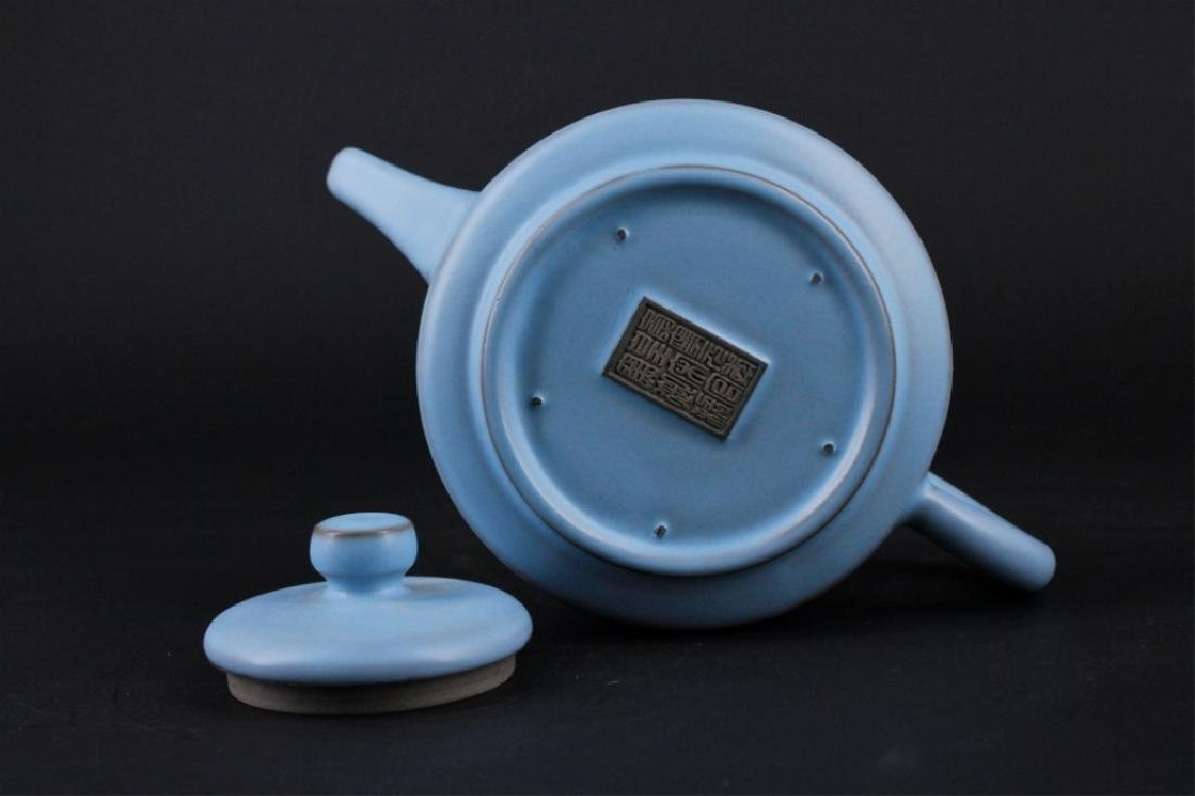 Chinese Song Porcelain RuYao TeaPot - 6