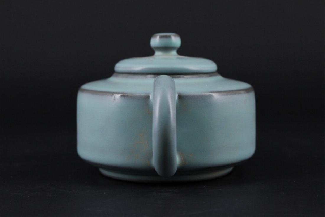 Chinese Song Porcelain RuYao TeaPot - 4