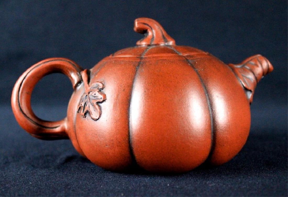 Old Chinese Zi Sha TeaPot Late-19th C. - 5