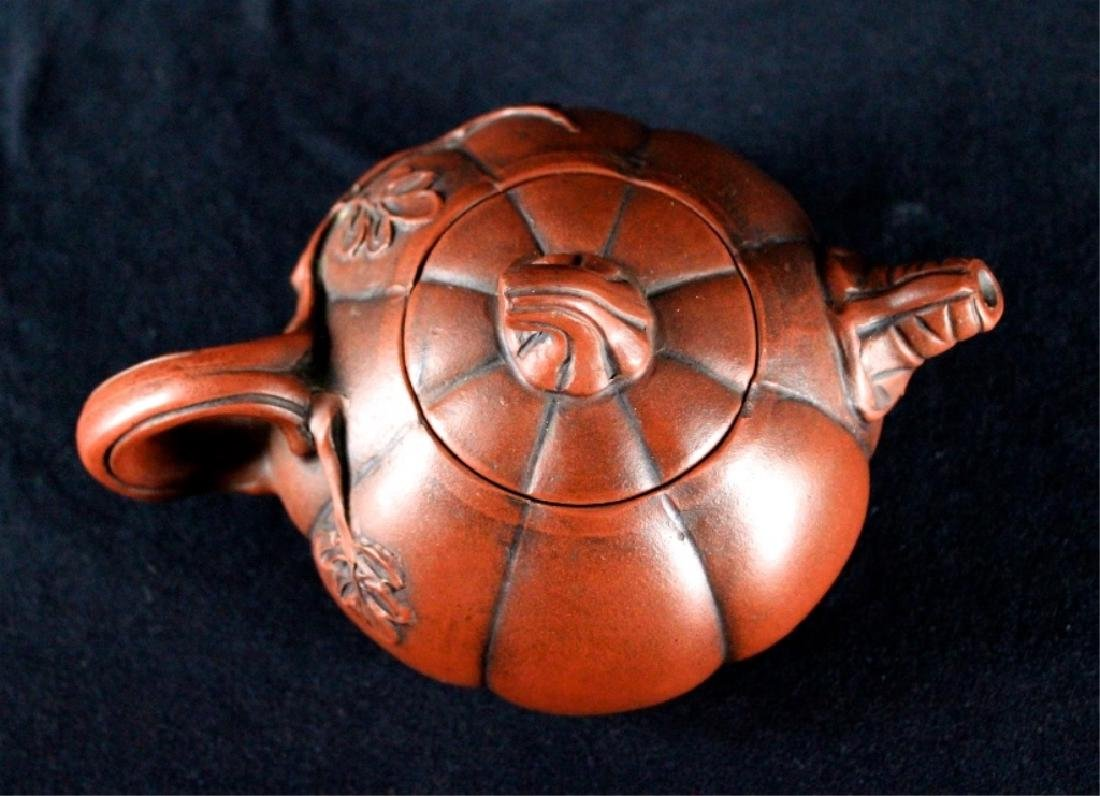 Old Chinese Zi Sha TeaPot Late-19th C. - 7