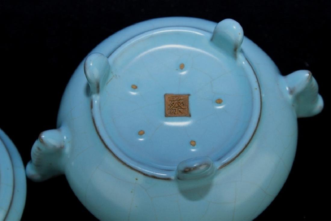 Chinese Song Porcelain Incense Burner - 5