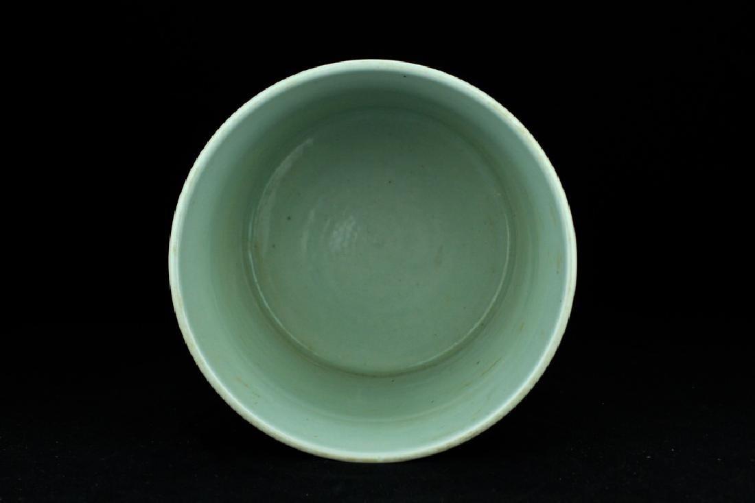Chinese Qing Porcelain Blue&White Brush Pot - 7