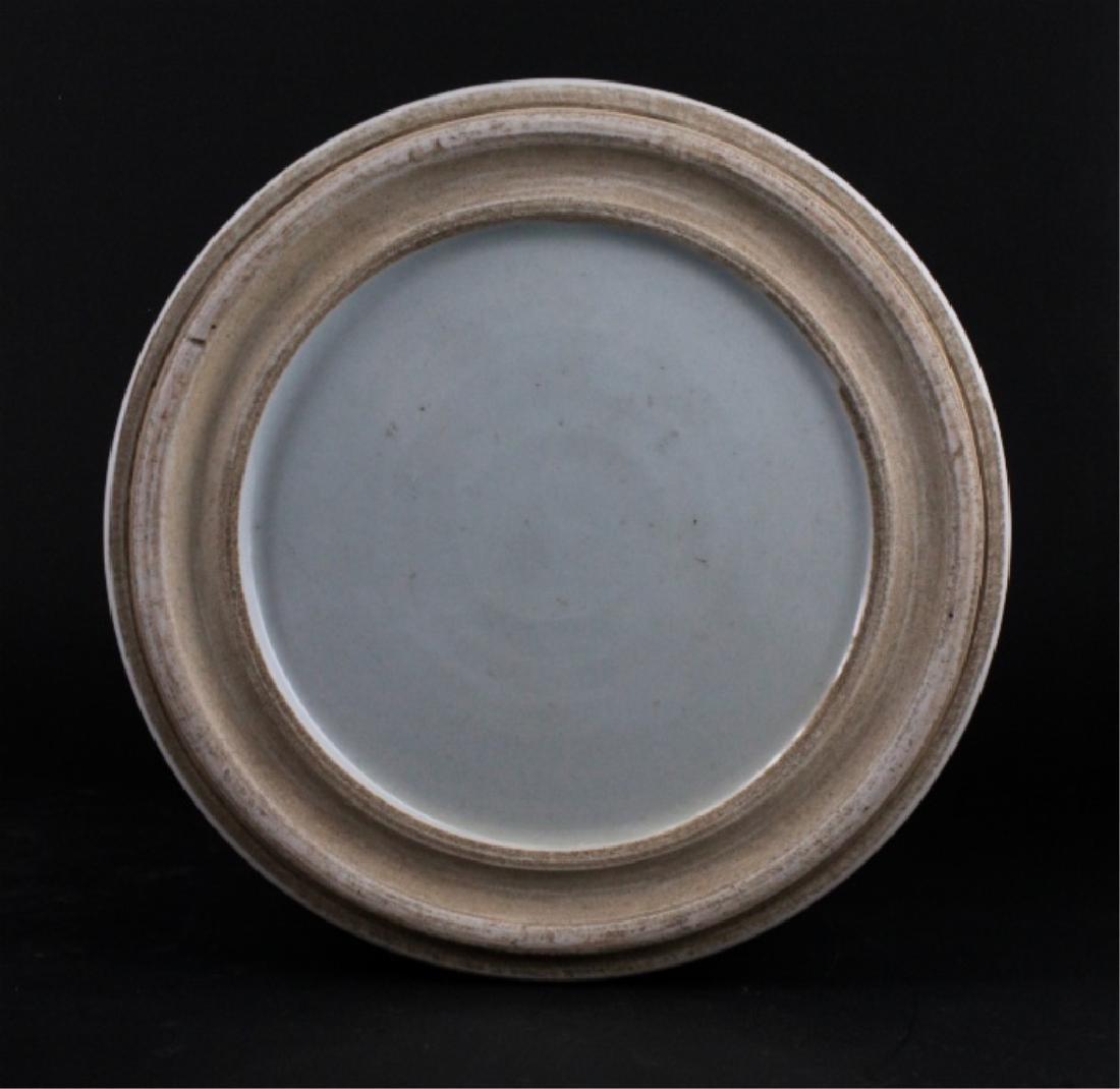 Chinese Qing Porcelain Blue White Brush Pot - 7