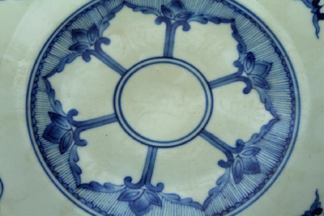 Chinese Qing Porcelain Blue&White Plate - 2