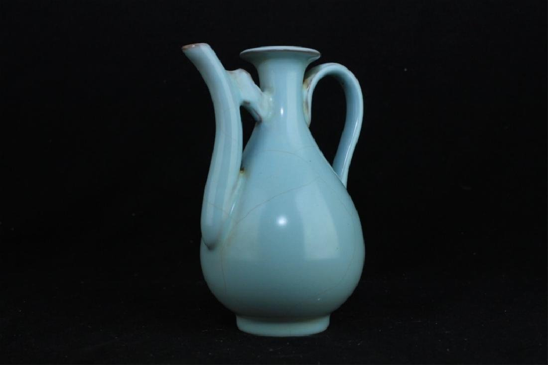 Chinese Song Porcelain RuYao Teapot - 2