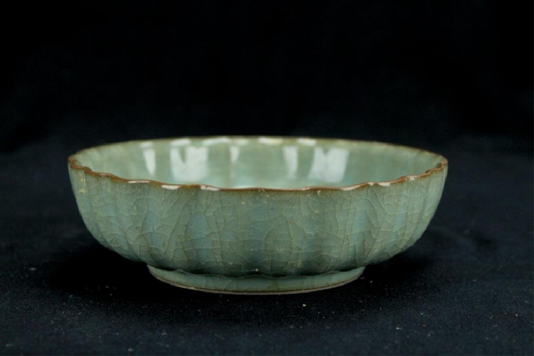 Chinese Song Porcelain GuanYao Plate - 2