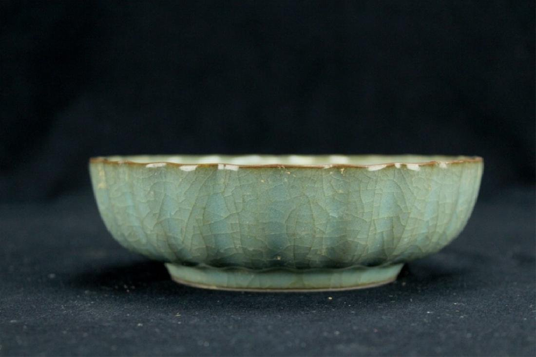 Chinese Song Porcelain GuanYao Plate - 3