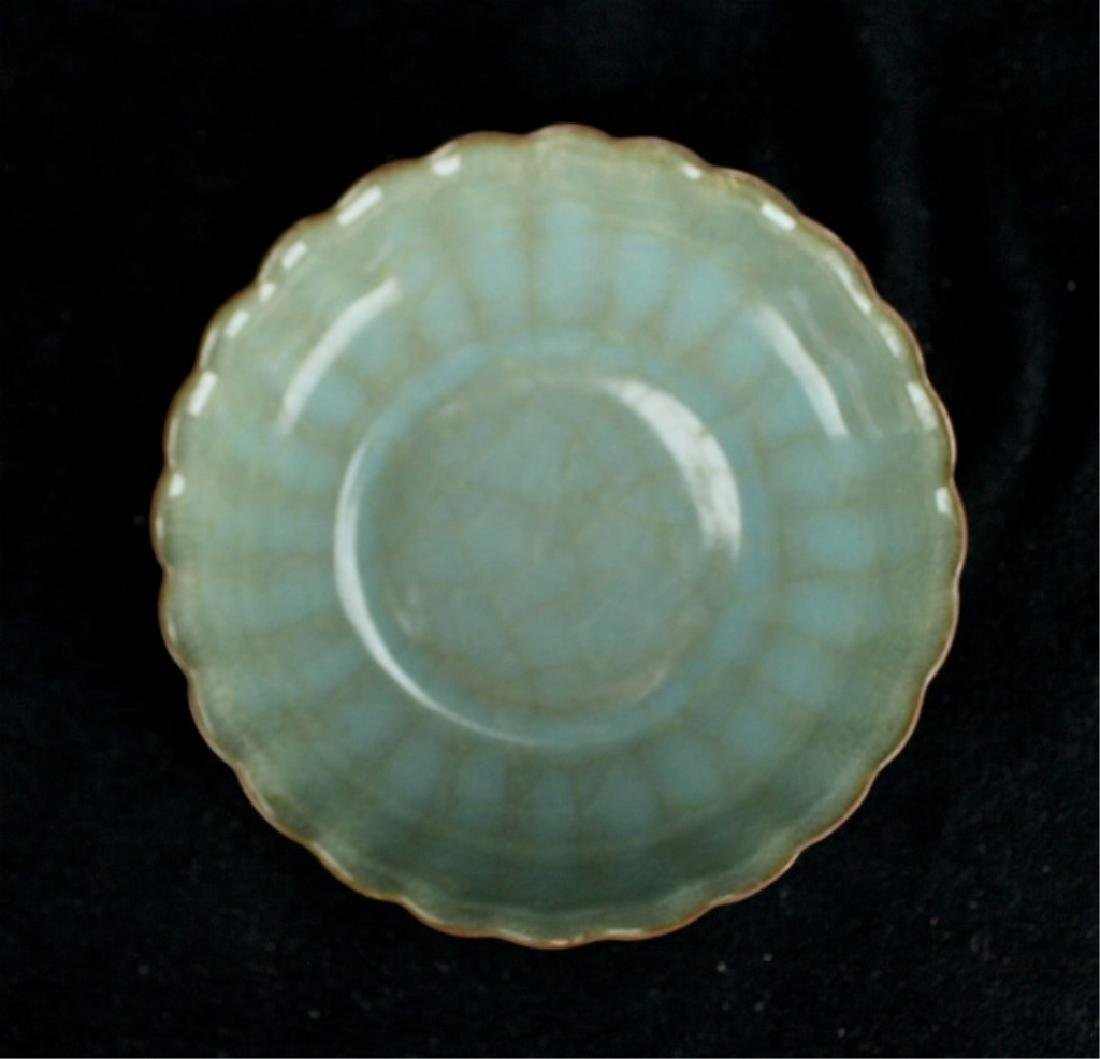 Chinese Song Porcelain GuanYao Plate - 4